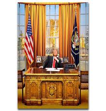 bureau president americain j3210 donald j président américain gagnant ovale bureau