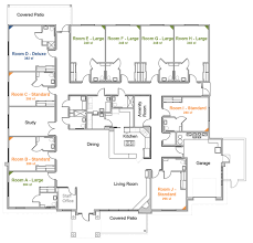 residential home floor plan showy house floorplan features at