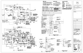 construction floor plans construction documents fitzgeraldstudiosblog