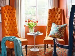 orange livingroom the psychology of color diy