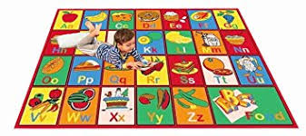 Abc Area Rugs Rug Abc Fruit Area Rug 39 X 58 For Playroom