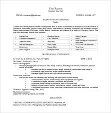Photography Resume Sample by Photographer Resume Resume Templates