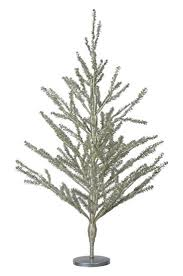 silver tinsel christmas tree 30 inch high silver tinsel christmas tree home kitchen