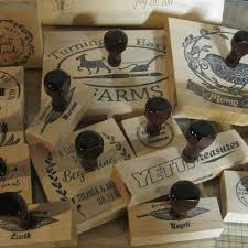 Stamp On Right Or Left Custom Rubber Stamps For Every Occasion By Tailormadestamps