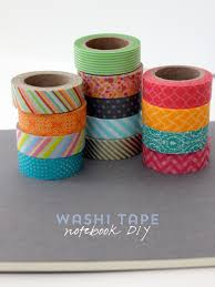alice and loisdiy project u2013 washi tape notebook