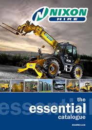 nixon hire essential catalogue by nixon hire issuu