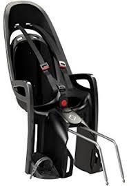 siège bébé vélo hamax hamax zenith siège porte bébé avec adaptateur porte bagages gris