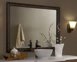 How To Frame A Large Bathroom Mirror by How To Frame Large Bathroom Mirrors Mirrormate Frames