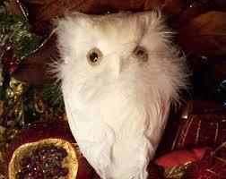 feathered owl etsy