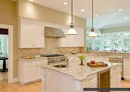 kitchen backsplash for white cabinets bianco romano countertop travertine backsplash tile backsplash