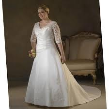 plus size modest wedding dress pluslook eu collection