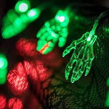 Halloween Monster Hands 10 X Green Monster Hands Halloween Lights