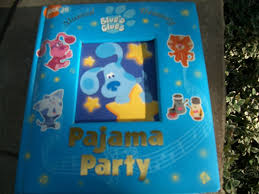 blues clues pajama party musical book on popscreen