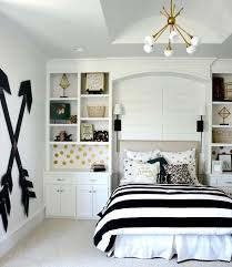 chambre fille noir et blanc chambre de fille ado en 20 idées de design et décoration chambres