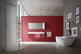 red bathroom color ideas interior design gray and red bathroom
