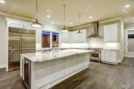 white kitchen cabinets large spacious kitchen design with white kitchen cabinets white