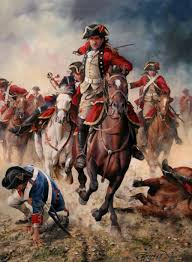 French Flag Revolutionary War Charge Of The Spanish Cavalry Against The French In 1793 French