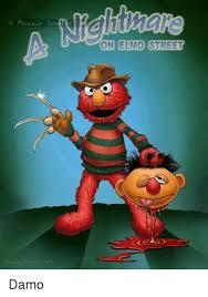 Elmo Meme - on elmo street damo elmo meme on me me
