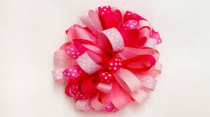 ribbon for hair bows how to make a bow with a ribbon how to make a bow i easy ribbon