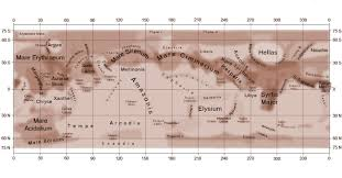 Mars Map Till Hellas Freezes Over See Frost And Clouds In Mars U0027 Largest