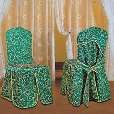 Wholesale Chair Covers Wholesale White And Lace With Yellow Embroidery Decorative Meeting
