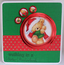 on the wings of craft teddy bear christmas