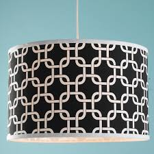 geometric fretwork drum shade ceiling light shades of light