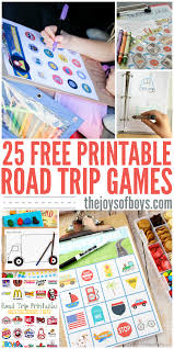 Free Printable Halloween Bingo Cards With Pictures Free Printable Road Trip Games