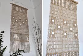 wall hanging picture for home decoration decor macrame door hanger macrame wall hanging thick