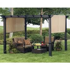 Metal Pergola With Canopy by Freestanding Pergola With Canopy Home Design Styles