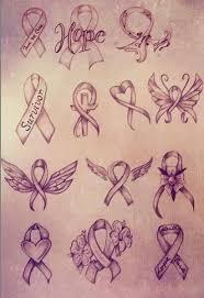 that choose breast cancer tattoos popular designs