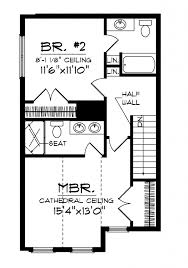 Small Two Bedroom House by Nice Simple House Plan With 2 Bedrooms 3d Simple House Plans For