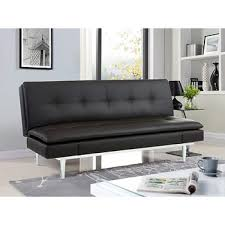 relax a lounger merrilyn bonded leather euro lounger convertible