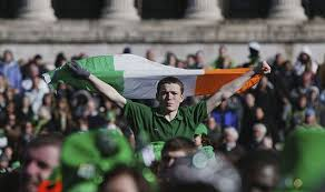 st patrick u0027s day crackdown irish flag banned at parade in