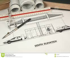architect designs architectural design tools stock photo image 1285320