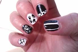 cute red and black nail designs choice image nail art designs