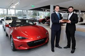 all mazda all new mazda mx 5 wins both 2016 world car of the year and world