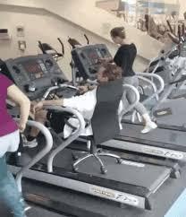 Treadmill Meme - lazy treadmill guy gif on imgur