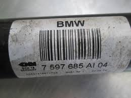 rear left axle shaft cv manual trans oem bmw m235i f22 335i f30