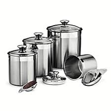 canisters for the kitchen kitchen canisters glass canister sets for coffee bed bath beyond