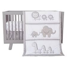 Black And White Chevron Bedding Amazon Com Trend Lab Safari Chevron 3 Piece Crib Bedding Set
