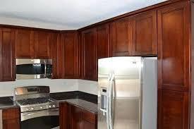 cherry shaker kitchen cabinet doors cherry shaker cabinets easy kitchen cabinets
