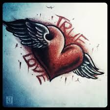 true love tattoo design by jerrrroen on deviantart