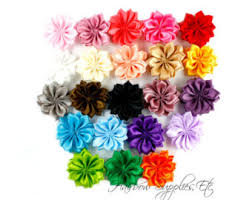 flowers for headbands flowers for hair etsy