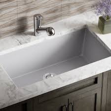 Kitchen Sinks And Taps Direct by 848 Silver Trugranite Single Bowl Kitchen Sink Amazon Com