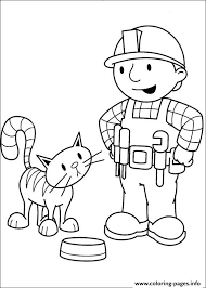 bob builder 77 coloring pages printable
