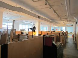 hudson square loft space very high ceilings office nyc open shot