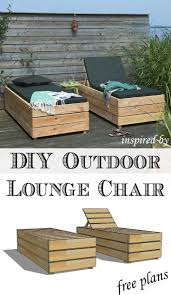 Diy Wooden Deck Chairs by 25 Best Outdoor Lounge Chairs Ideas On Pinterest Outdoor Chairs