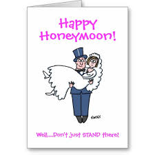 wedding wishes humor marriage congratulations happy honeymoon greeting card