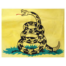 Yellow Flag With Snake Gadsden 3ft X 5ft Sewn Cotton Flag Dont Tread On Me